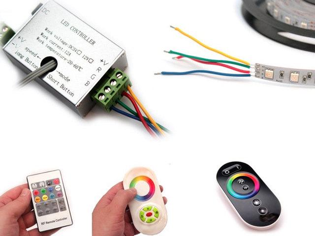 Светодиодные ленты RGB - виды, устройство, схемы