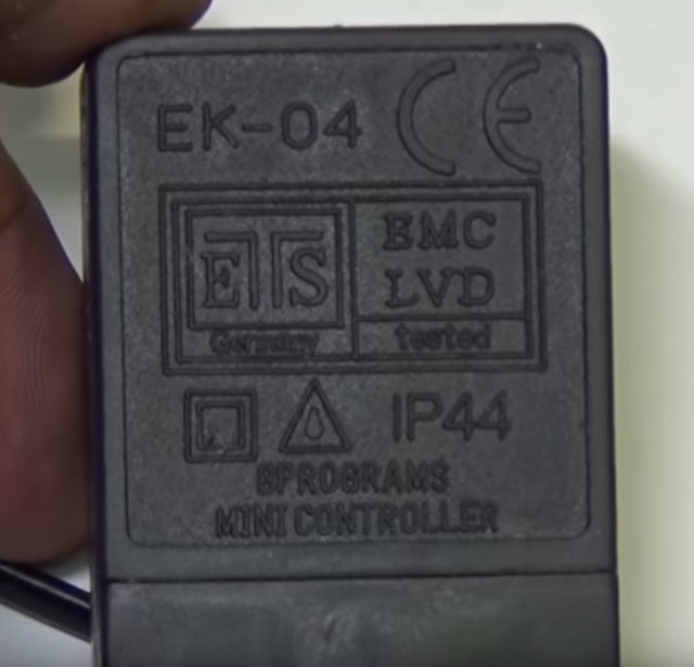 Контроллер светодиодных гирлянд своими руками